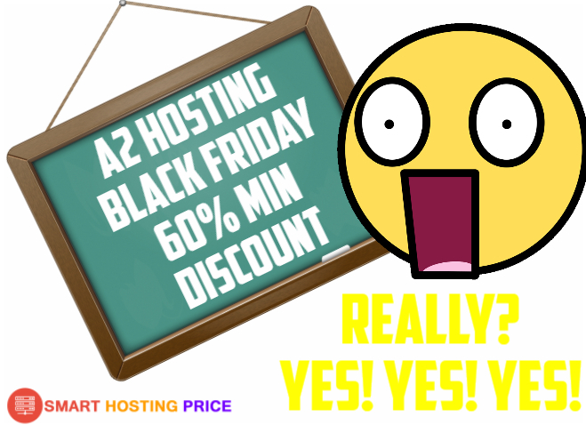 A2 Hosting Black Friday & Cyber Monday 2017 Discount Coupons & Deals - FLAT 60% Discount
