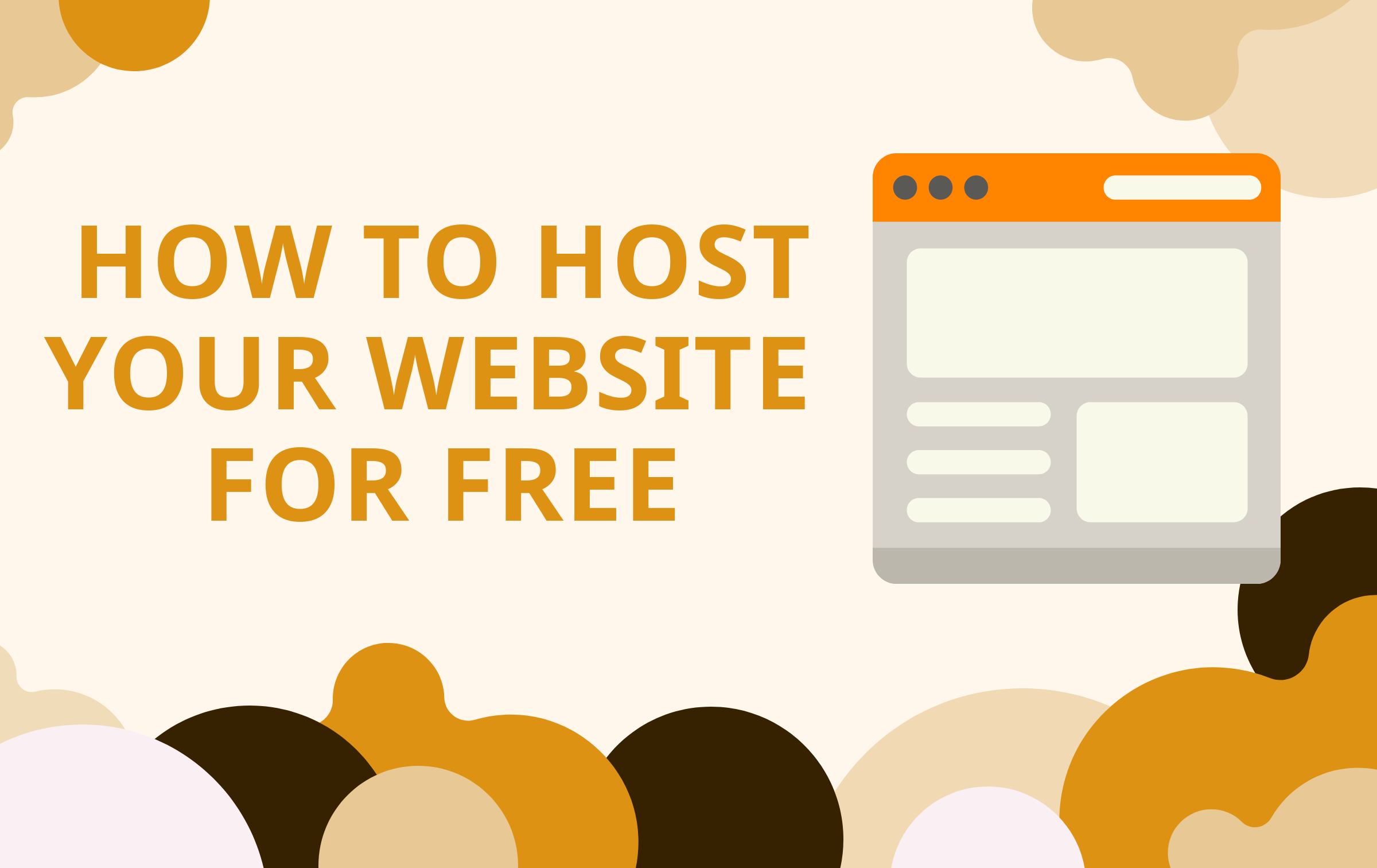 How To Host Website For Free