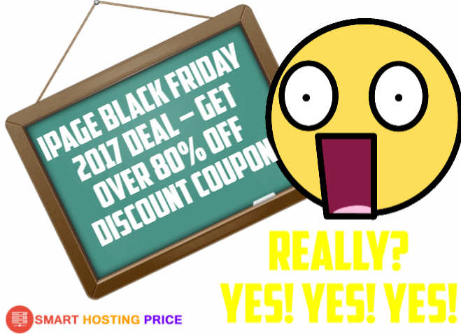 iPage Black Friday 2017 Deal – Get Over 80% OFF Discount Coupon With A FREE Domain