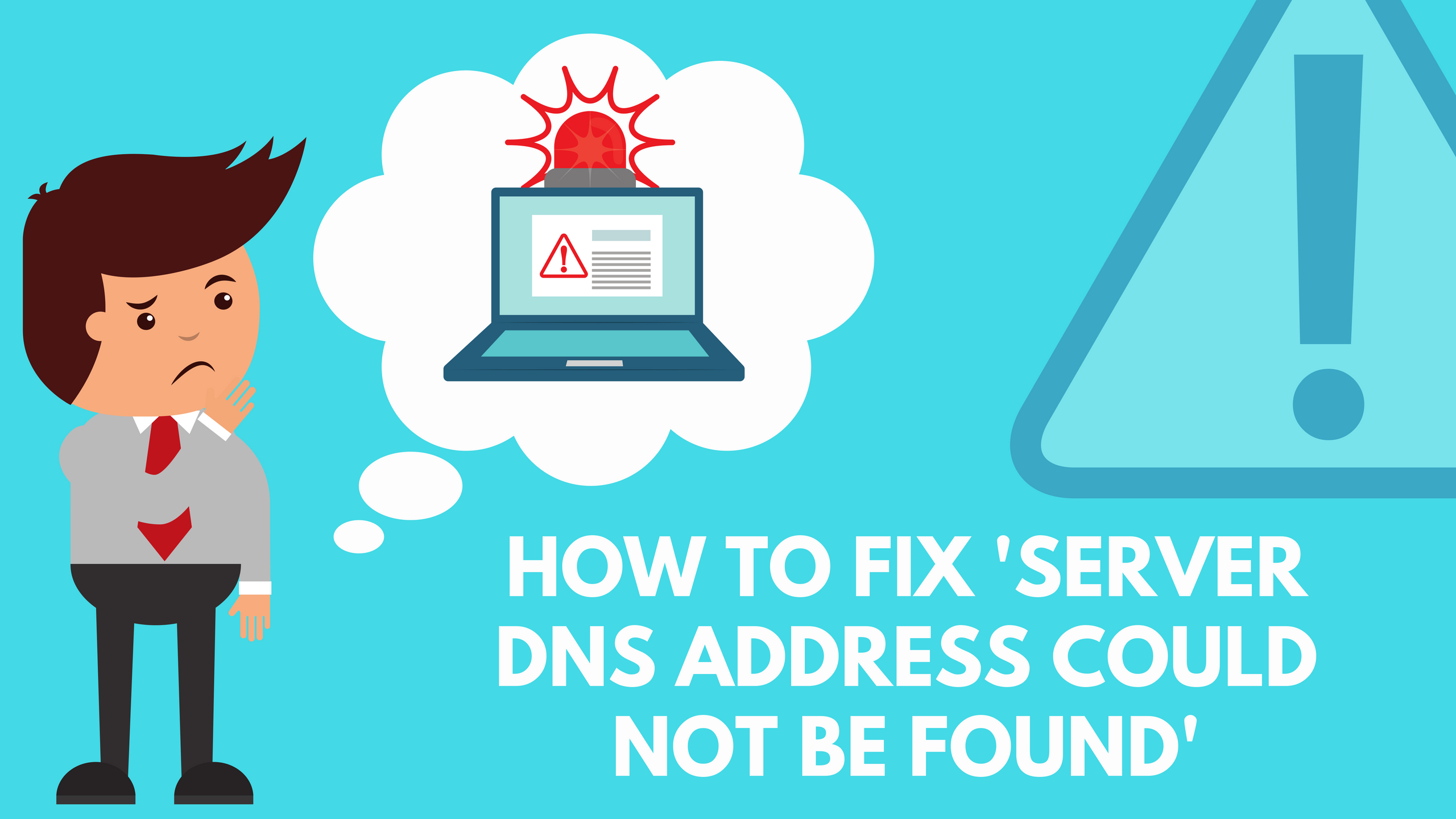 dns address could not found